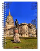 West Virginia State Capitol Building Spiral Notebook
