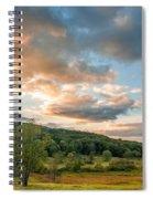 West Virginia Sunset Spiral Notebook