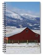 Westcliffe Landmark - The Red Barn Spiral Notebook