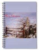 Western Christmas Spiral Notebook