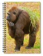 Western Lowland Gorilla Female Spiral Notebook