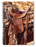 Western Saddle Spiral Notebook