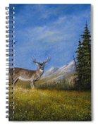 Western Whitetail Spiral Notebook