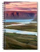 Westfjords Spiral Notebook