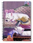 Westies Home Spiral Notebook