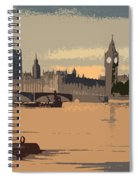 Westminster And Big Ben  Spiral Notebook