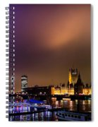 Westminster And Eye Night Glow Spiral Notebook
