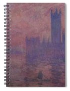 Westminster Tower Spiral Notebook