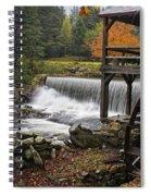 Weston Grist Mill Spiral Notebook