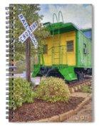 Weston Railroad Crossing Spiral Notebook