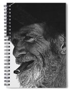 Westward Ho Homage 1935 Tombstone Slim Helldorado Days Tombstone Arizona 1968-2008 Spiral Notebook