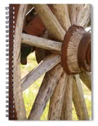 Westward Ho Spiral Notebook