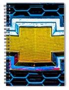 Wet Chevy Spiral Notebook