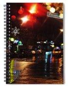Wet City Spiral Notebook