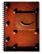 Wet Rivets Number Nine Spiral Notebook