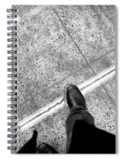 Wet Step Spiral Notebook
