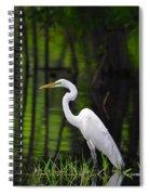 Wetland Wader Spiral Notebook