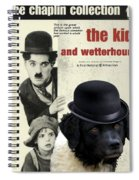 Wetterhoun-frisian Water Dog Art Canvas Print - The Kid Movie Poster Spiral Notebook