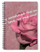 We've Only Scratched The Surface Valentine Spiral Notebook
