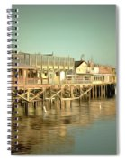 Fishermans Wharf Monterey California Spiral Notebook