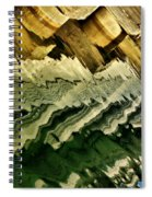 Wharf Reflections Spiral Notebook