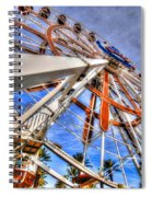 Wharf Wheel Spiral Notebook