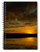 What A Sunset Spiral Notebook