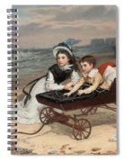 What Are The Wild Waves Saying? Spiral Notebook