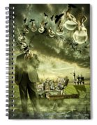 What Are You Thinking Spiral Notebook