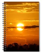 What Do You See Sunset Spiral Notebook
