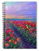 Tulip Fields, What Dreams May Come Spiral Notebook