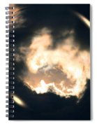 What Holds The Sky Up Under The Wind Spiral Notebook