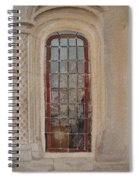 What Is Behind The Window Pane Spiral Notebook