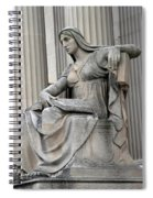 What Is Past Is Prologue Statue At National Archives -- 2 Spiral Notebook