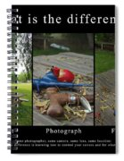 What Is The Difference Spiral Notebook