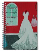Whatever I Was Looking For Was Always You - Rumi Quote Spiral Notebook