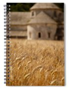 Wheat At The Abbaye Spiral Notebook