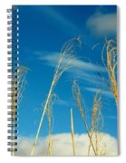 Wheat In The Sky Spiral Notebook