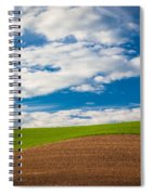 Wheat Wave Spiral Notebook