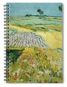 Wheatfields Near Auvers-sur-oise Spiral Notebook