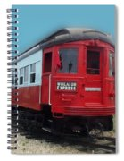 Wheaton Express Spiral Notebook