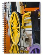 Wheel Colors Spiral Notebook