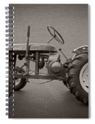 Wheel Horse Vintage Spiral Notebook