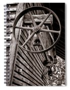 Wheel Of Labor  Spiral Notebook