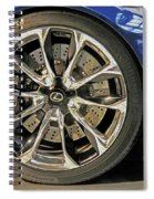 Wheel Of The Future Spiral Notebook