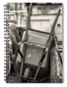 Wheelbarrows  Spiral Notebook