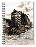 Wheeling And Lake Erie Spiral Notebook