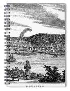 Wheeling, West Virginia Spiral Notebook