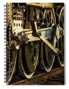 Wheels Spiral Notebook