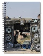 Wheels For Sale Mexico Spiral Notebook